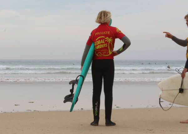 Quite and Personalised Private Surf Lesson from Gwithian, Cornwall